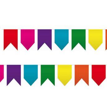 Imagen de Banderín colores original 25m