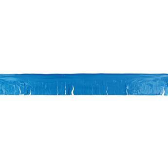 Imagens de Guirnalda azul flecos plástico 25m