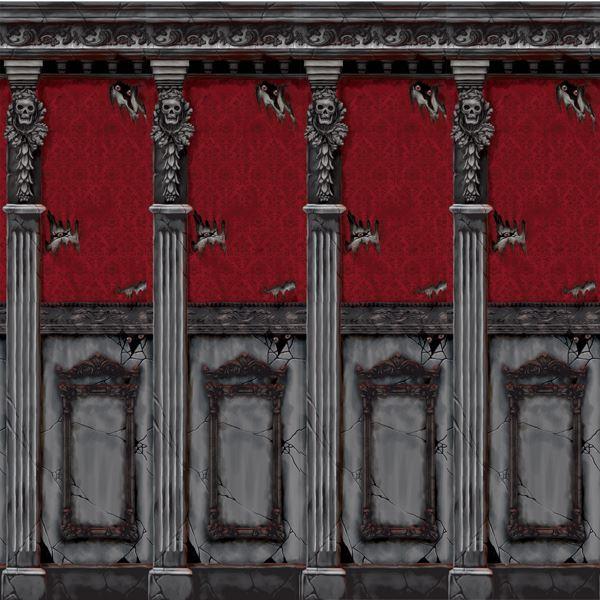 Picture of Fondos pared mansión gótica (12m)
