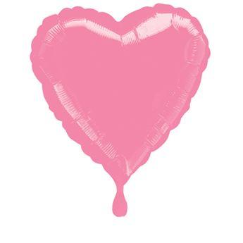 Imagen de Globo corazón rosa chicle
