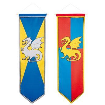 Imagen de Decorado medieval banderola