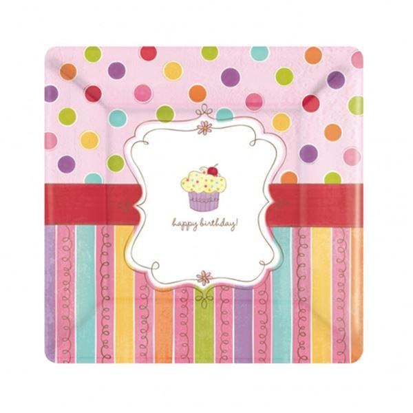 Picture of Platos cupcake cumple grandes (8)