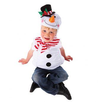 Imagen de Disfraz muñeco nieve 3-5 años