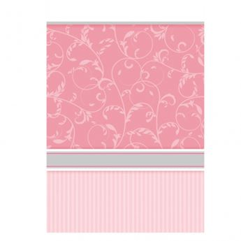 Imagen de Mantel comunión rosa