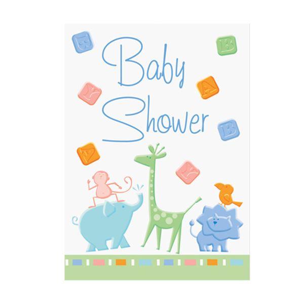 Imagen de Invitaciones bebé animales (8)
