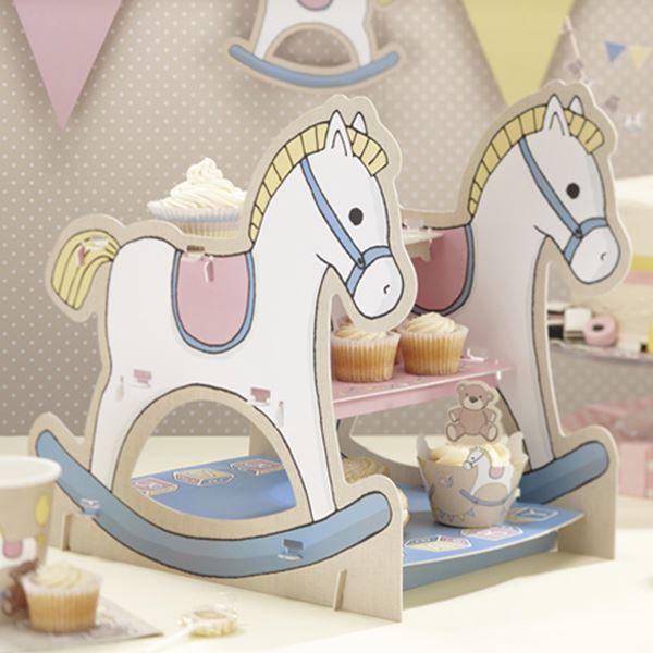 Imagen de Stand para cupcakes bebé vintage