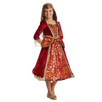Picture of Disfraz princesa medieval lujo 5-7 años