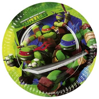 Imagen de Platos Tortugas Ninja grandes (8)