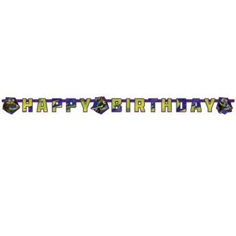 Imagen de Banner Happy Birthday Tortugas Ninja