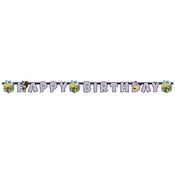 Imagens de Banner Happy Birthday Abeja Maya