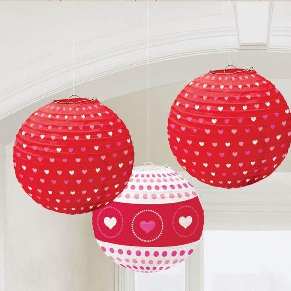 Imagen de Decorados linternas corazones 24cm (3)