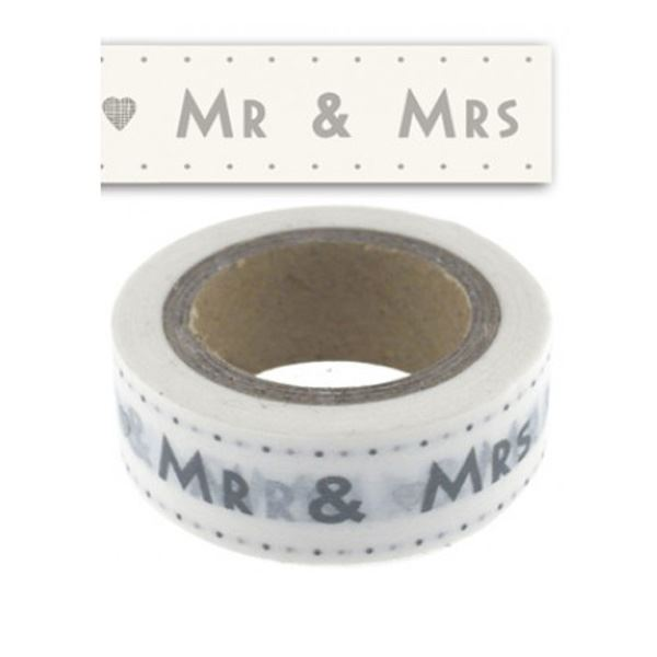 Picture of Washi Tape Mr and Mrs