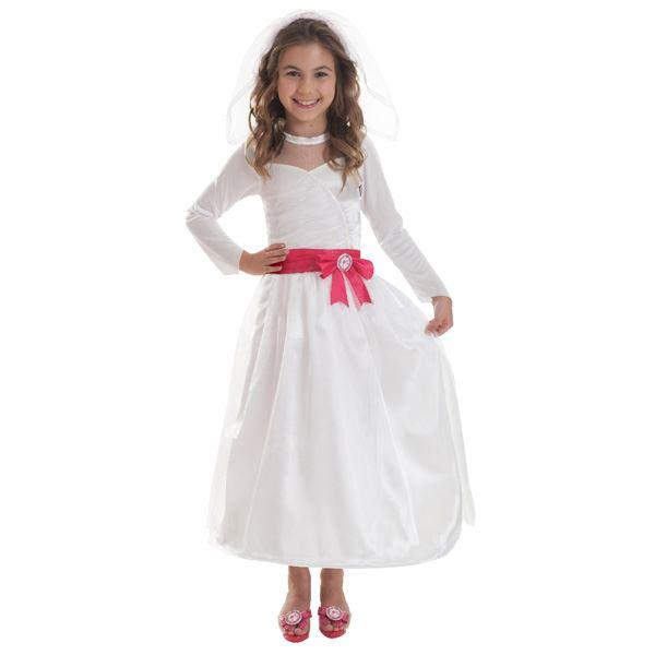 Imagen de Disfraz Barbie novia 5-7 años