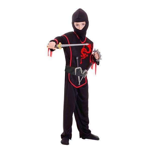 Imagens de Disfraz Ninja con accesorios 3 a 6 años