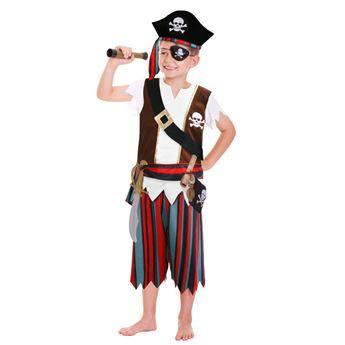 Imagens de Disfraz pirata con accesorios 3 a 6 años