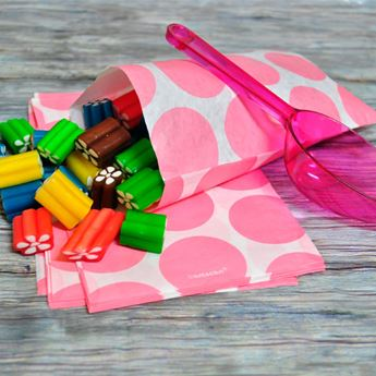 Picture of Bolsas candy bar rosa pastel papel (10)