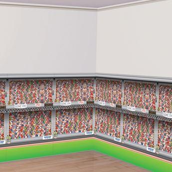 Picture of Fondo pared Estadio fútbol 12 metros