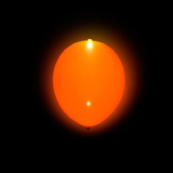 Imagen de Globos naranja con luz (5)