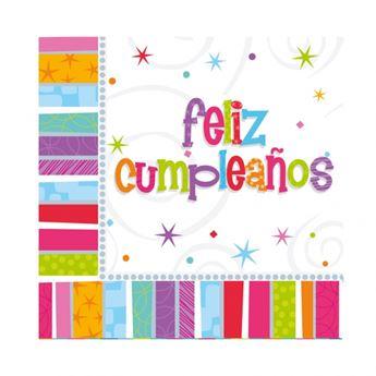Imagen de Servilletas Feliz Cumpleaños radiante (16)