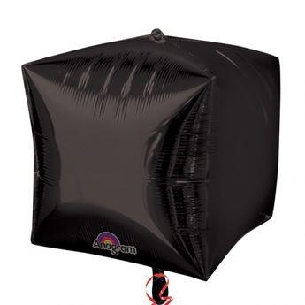 Imagen de Globo negros forma cubo