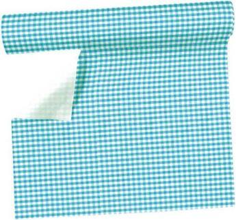 Imagen de Camino de mesa azul claro vichi