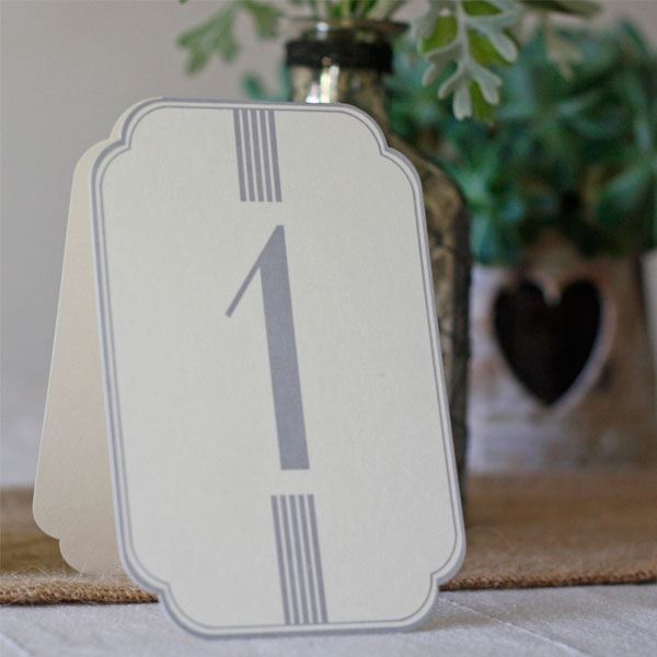 Picture of Números para mesa del 1 al 12