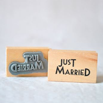 Imagen de Sello Just Married