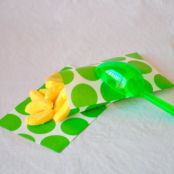 Picture of Bolsas candy bar verde claro papel (10)