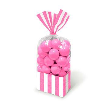 Imagens de Bolsas celofán rayas rosa pastel (10)