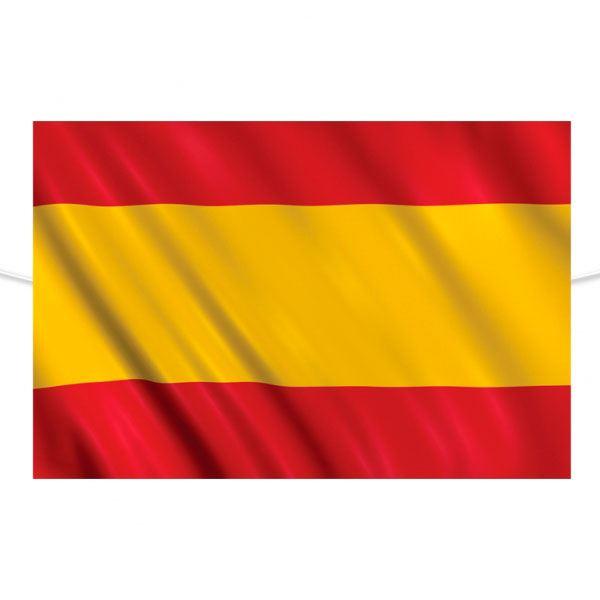 Imagen de Bandera de España de tela 150 x 90cm