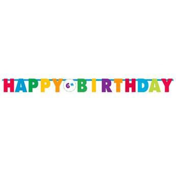 Imagen de Banner Happy Birthday personalizable