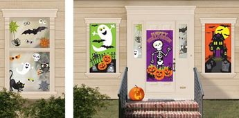 Picture of Decorados pared Casa Halloween infantil