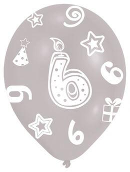 Imagen de Globos 6 cumpleaños (6)