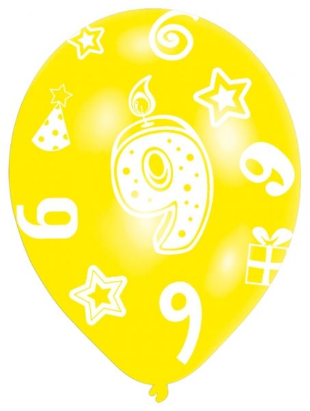 Picture of Globos 9 cumpleaños (6)