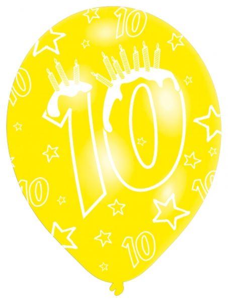 Imagen de Globos 10 cumpleaños (6)