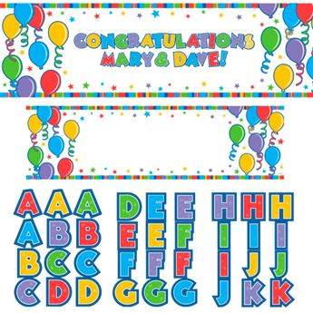 Picture of Banner Gigante globos personalizable
