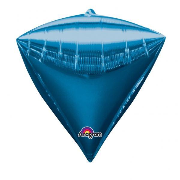 Picture of Globo azul diamante