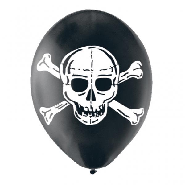 Globos Calavera Pirata 6 Envío En 24h Desde 399 Fiestafacil