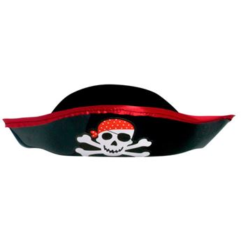 Picture of Sombrero pirata infantil plástico