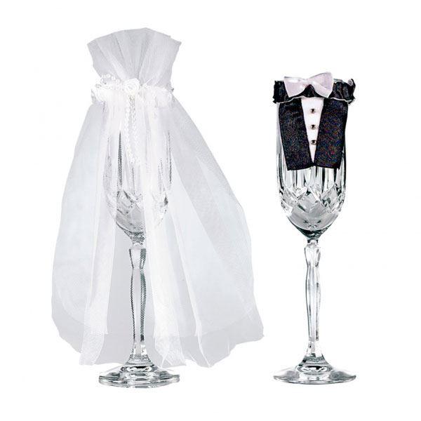 Imagen de Decoración copa novia y novio