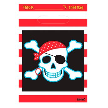 Imagens de Bolsas piratas calavera con parche (8)