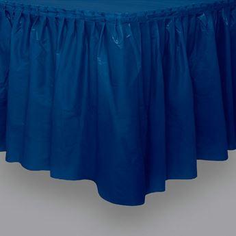 Imagen de Falda de mesa azul oscuro