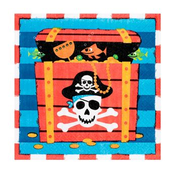 Picture of Servilletas Piratas Tesoro (16)