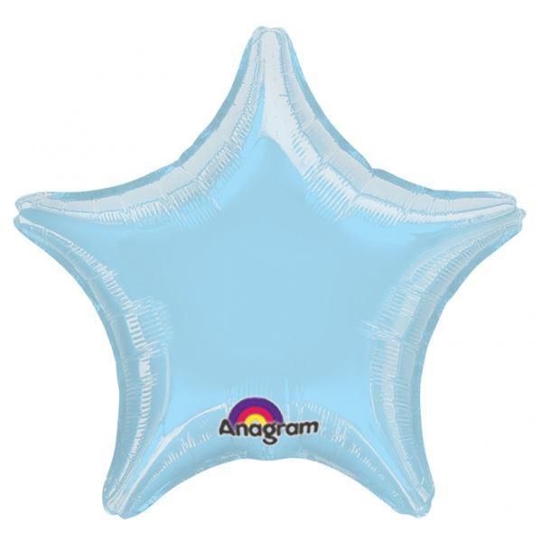 Picture of Globo estrella azul claro jumbo