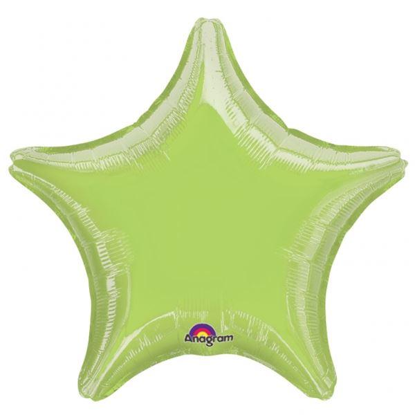 Picture of Globos estrella verde claro jumbo (3)