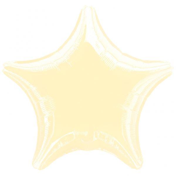 Picture of Globos estrella marfil jumbo (3)