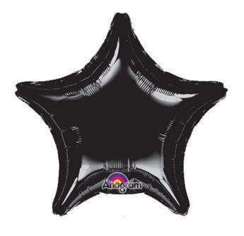 Picture of Globos estrella negra jumbo (3)