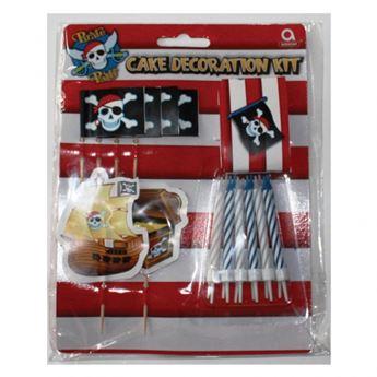 Picture of Kit decoración tarta pirata