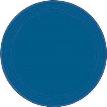 Imagen de Platos azul oscuro grandes (8)
