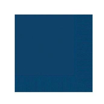 Imagen de Servilletas azul oscuro pequeñas (20)